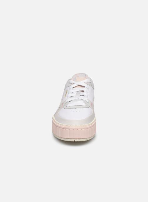 Baskets Puma Cali Sport Wn's Blanc vue portées chaussures