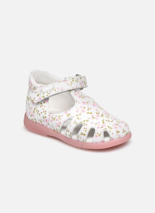 Sandales et nu-pieds Primigi PPB 54025 Blanc vue détail/paire