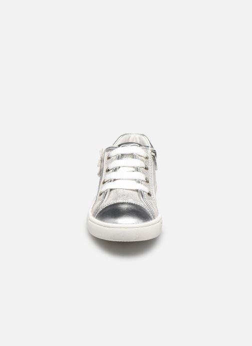 Baskets Primigi PMC 54275 Argent vue portées chaussures