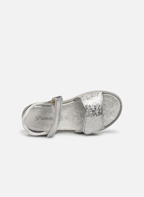 Sandales et nu-pieds Primigi PAL 53853 Argent vue gauche