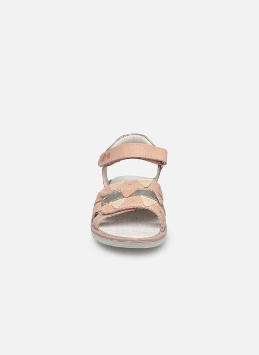 Sandales et nu-pieds Primigi PAL 53854 Rose vue portées chaussures