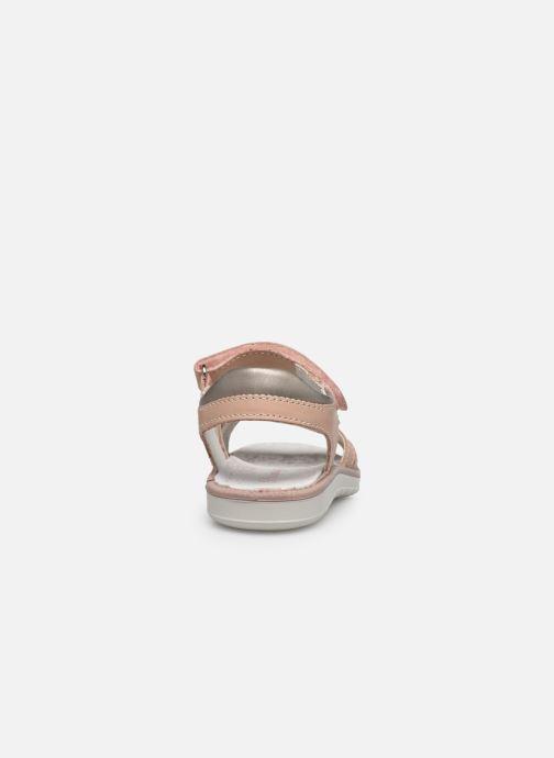 Sandales et nu-pieds Primigi PAL 53854 Rose vue droite