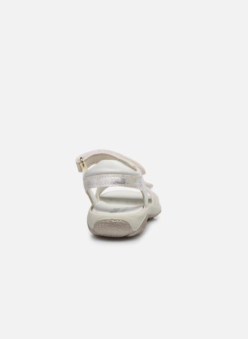 Sandales et nu-pieds Primigi PBR 53836 Argent vue droite