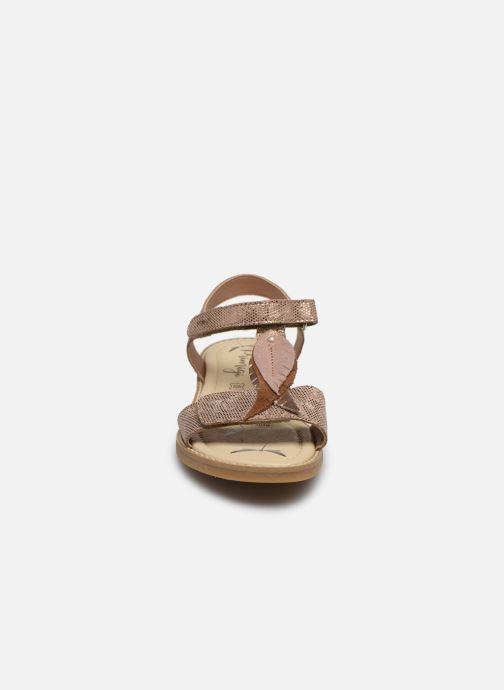 Sandales et nu-pieds Primigi PFD 54396 Rose vue portées chaussures