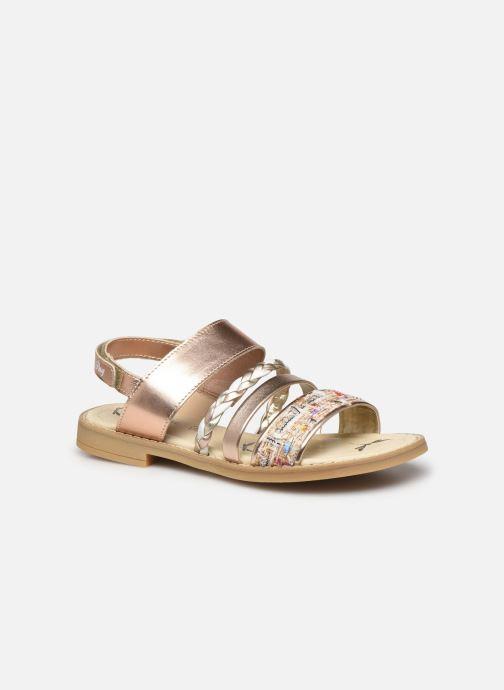 Sandaler Primigi PFD 54398 Guld og bronze detaljeret billede af skoene