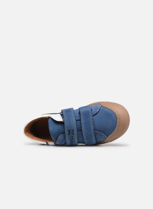 Baskets Primigi PTM 54230 Bleu vue gauche