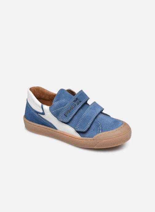 Baskets Primigi PTM 54230 Bleu vue détail/paire