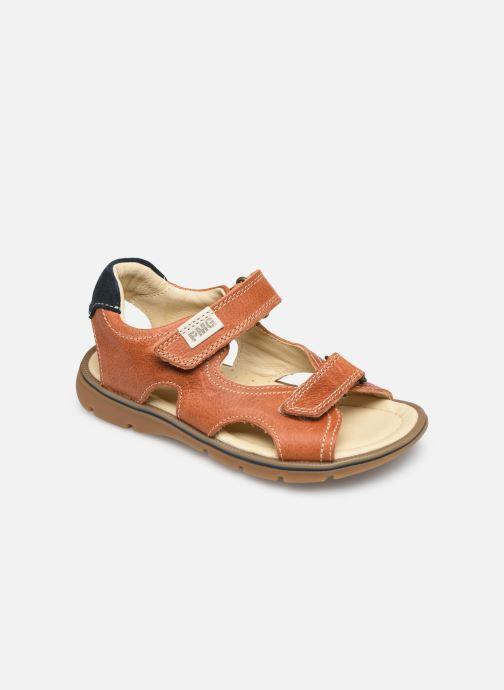 Sandales et nu-pieds Primigi PFP 54211 Marron vue détail/paire