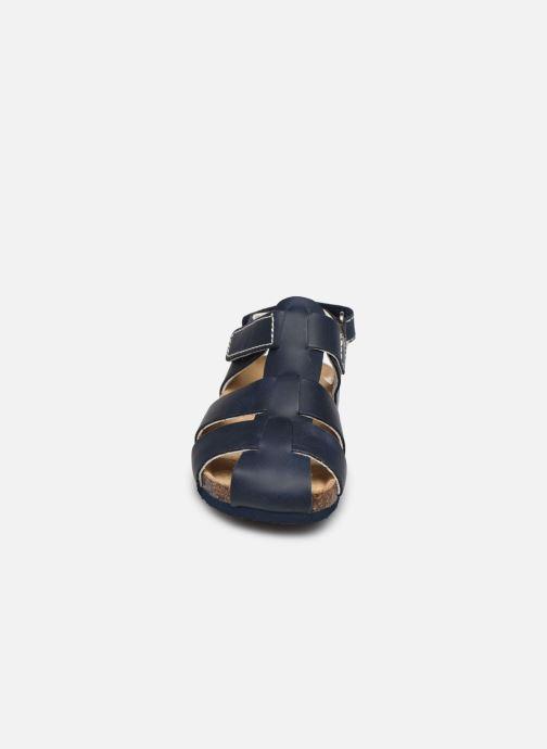 Sandales et nu-pieds Primigi PBK 54252 Bleu vue portées chaussures