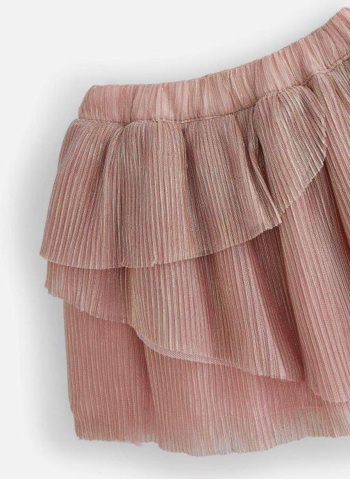 Vêtements Carrement Beau Y13080 Rose vue portées chaussures
