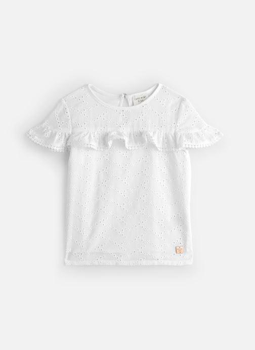 Vêtements CARREMENT BEAU Y15335 Blanc vue détail/paire