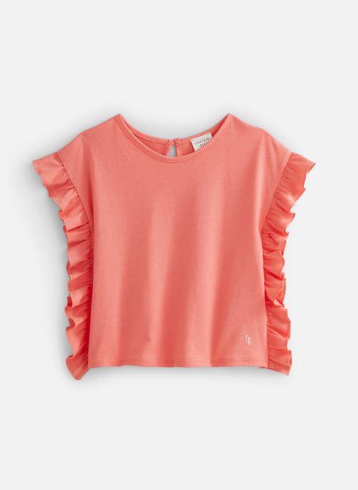 Vêtements Carrement Beau Y15337 Rose vue détail/paire