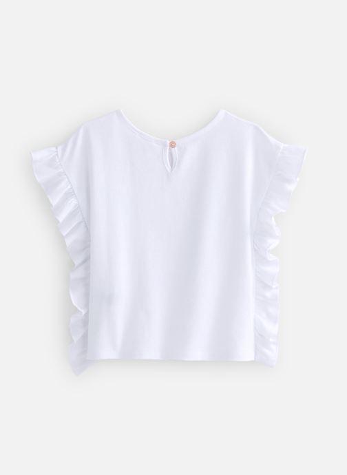 Vêtements Carrement Beau Y15337 Blanc vue bas / vue portée sac