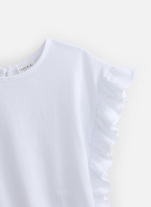 Vêtements CARREMENT BEAU Y15337 Blanc vue portées chaussures