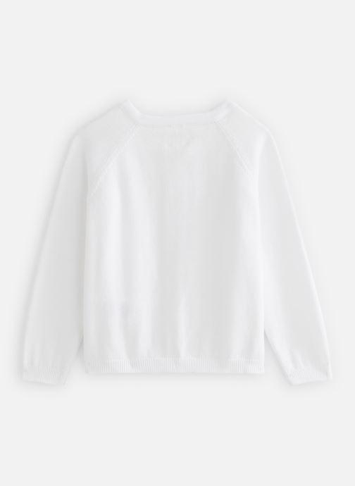Vêtements Carrement Beau Y15320 Blanc vue bas / vue portée sac