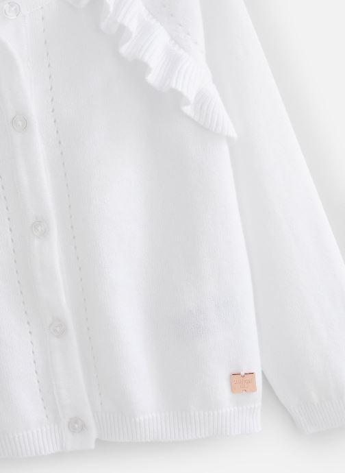 Vêtements Carrement Beau Y15320 Blanc vue portées chaussures