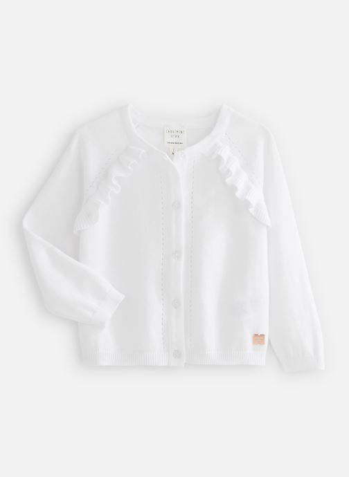 Vêtements Carrement Beau Y15320 Blanc vue détail/paire