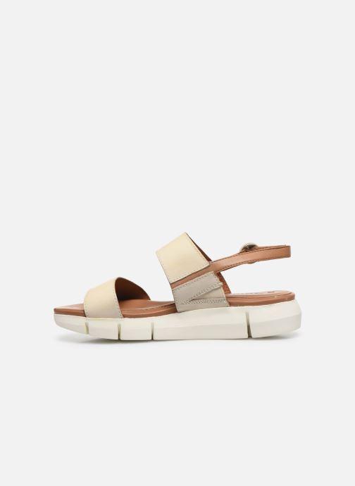 Sandales et nu-pieds Tamaris JANNE Beige vue face