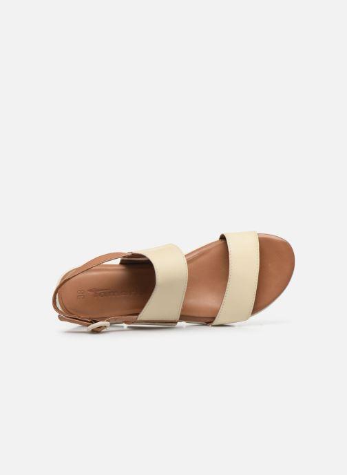 Sandales et nu-pieds Tamaris JANNE Beige vue gauche