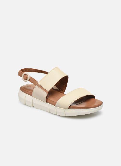 Sandales et nu-pieds Tamaris JANNE Beige vue détail/paire