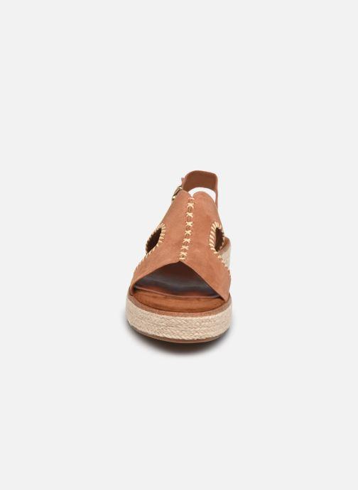 Sandales et nu-pieds Tamaris JUDE Marron vue portées chaussures