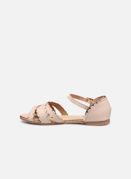 Sandales et nu-pieds Carrement Beau Y19058 Beige vue face