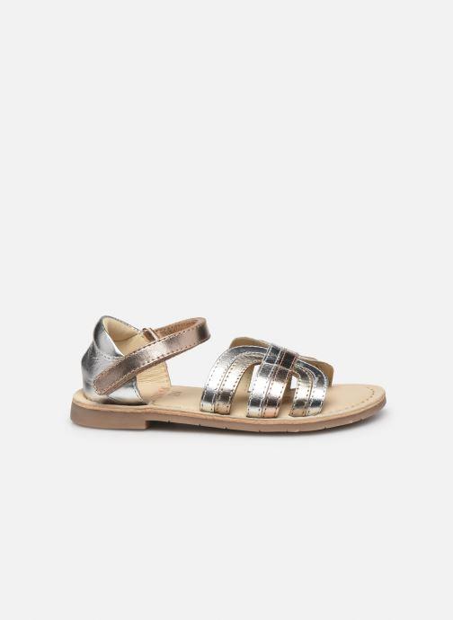 Sandales et nu-pieds CARREMENT BEAU Y09006 Argent vue derrière