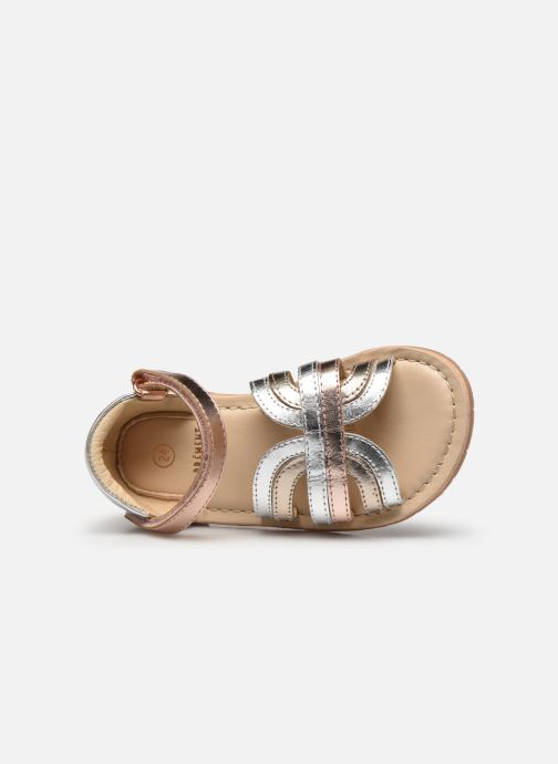 Sandales et nu-pieds Carrement Beau Y09006 Argent vue gauche