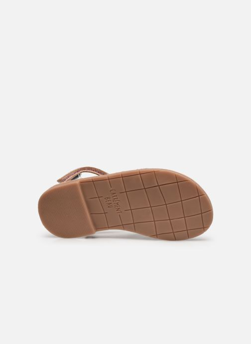 Sandales et nu-pieds CARREMENT BEAU Y09006 Argent vue haut