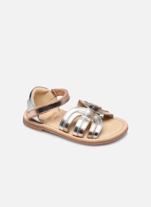 Sandales et nu-pieds CARREMENT BEAU Y09006 Argent vue détail/paire