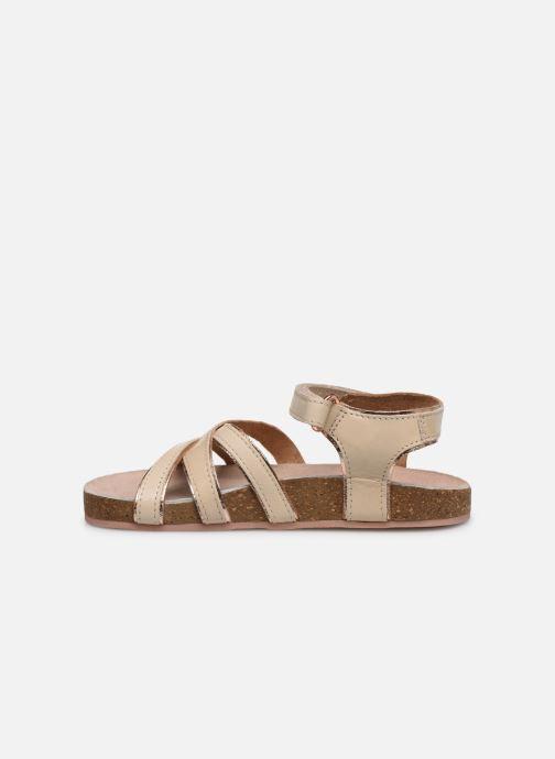 Sandales et nu-pieds CARREMENT BEAU Y09005 Beige vue face
