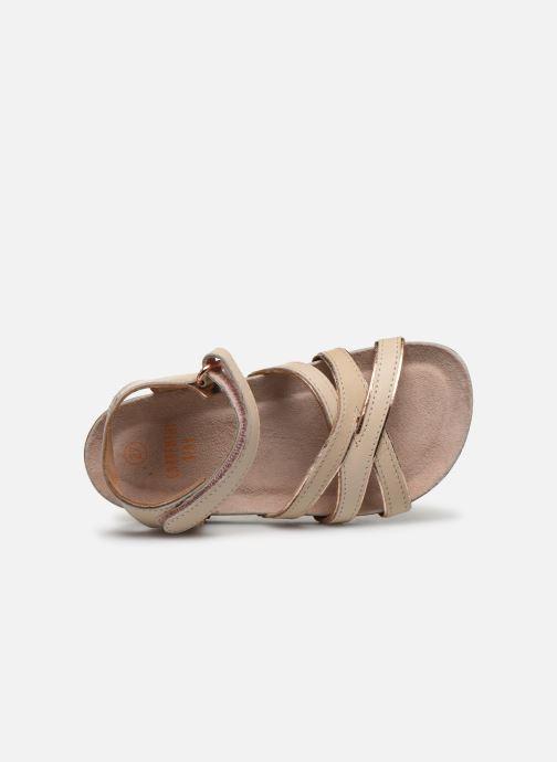 Sandales et nu-pieds CARREMENT BEAU Y09005 Beige vue gauche