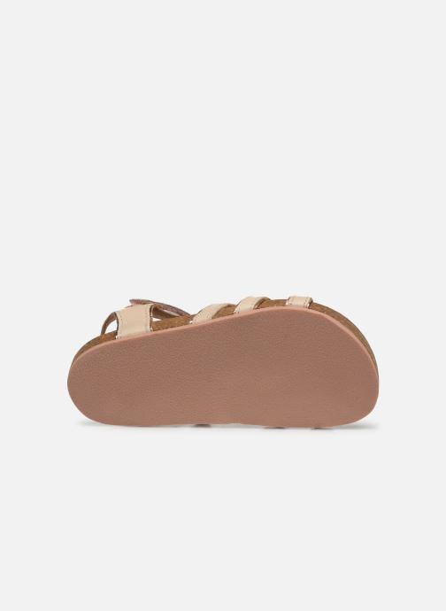 Sandales et nu-pieds CARREMENT BEAU Y09005 Beige vue haut