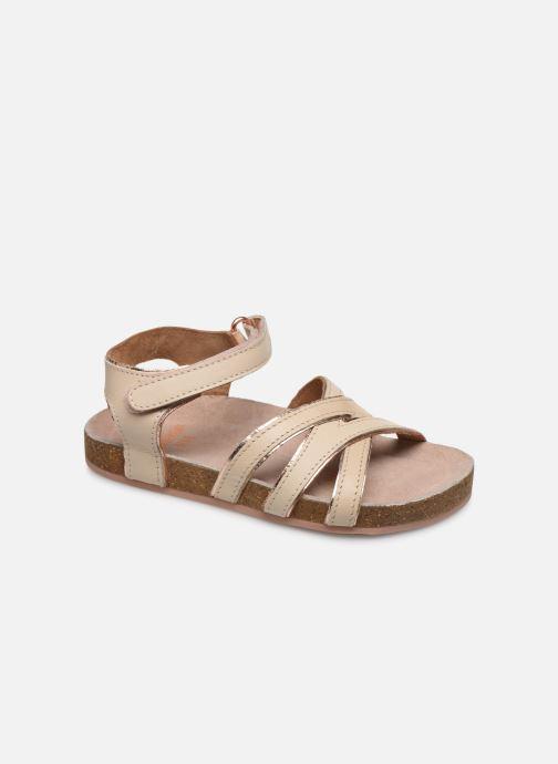 Sandales et nu-pieds CARREMENT BEAU Y09005 Beige vue détail/paire