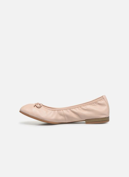 Ballerines Tamaris BRACI Rose vue face