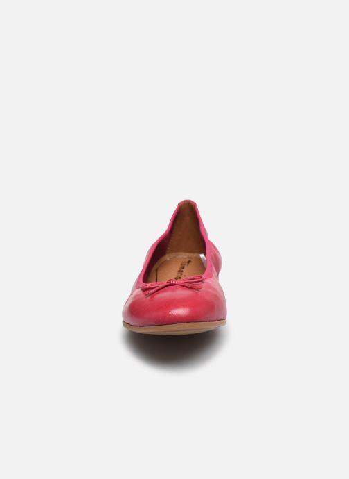 Ballerines Tamaris BRACI Rose vue portées chaussures