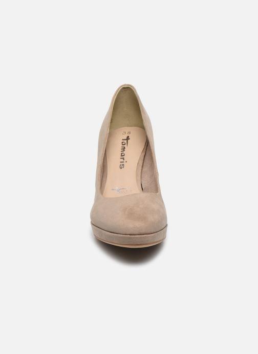 Zapatos de tacón Tamaris TIANA Beige vistra trasera