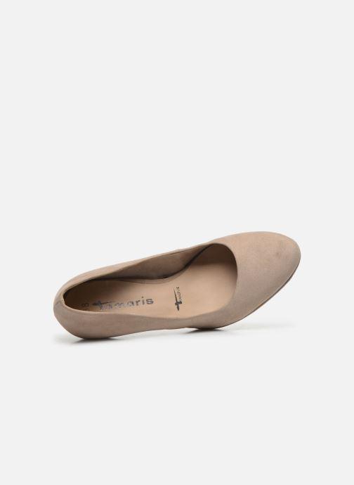 Zapatos de tacón Tamaris TIANA Beige vista lateral izquierda