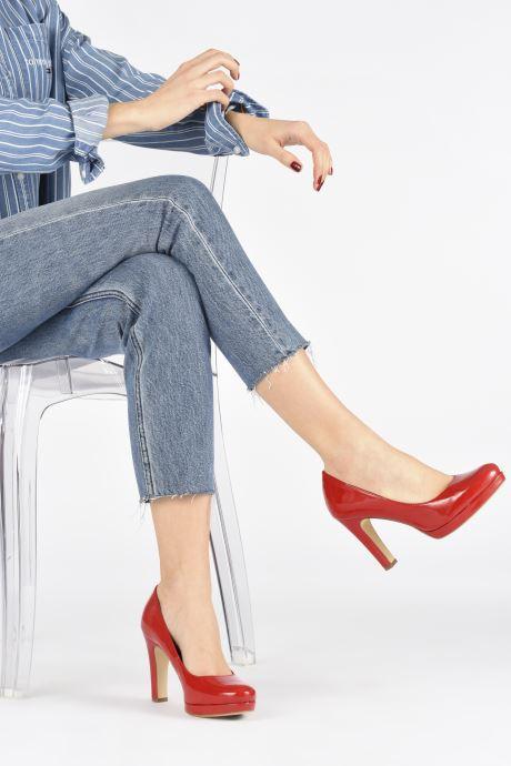 Zapatos de tacón Tamaris SOSKO Rojo vista de abajo