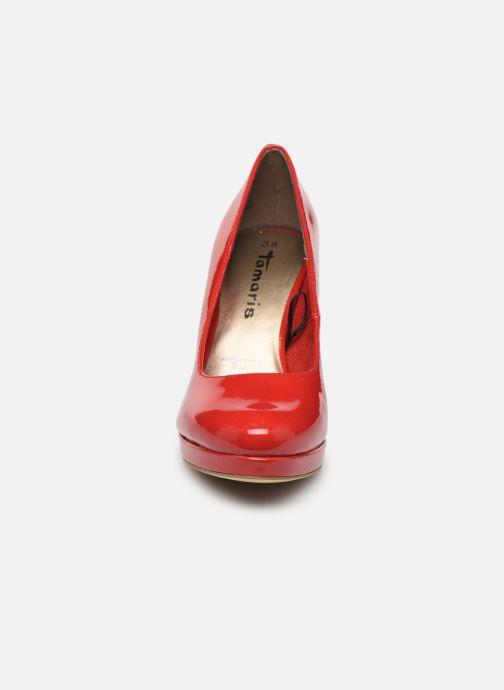 Escarpins Tamaris SOSKO Rouge vue portées chaussures