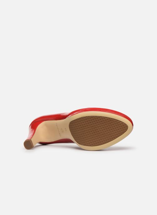 Zapatos de tacón Tamaris SOSKO Rojo vista de arriba