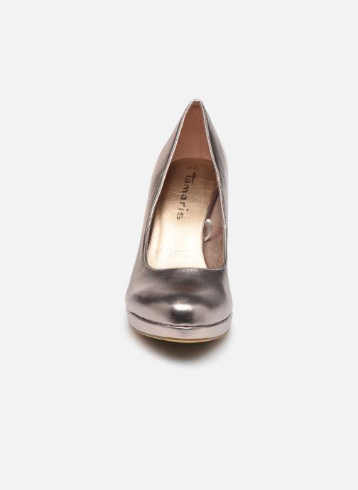 High heels Tamaris SOSKO Bronze and Gold model view