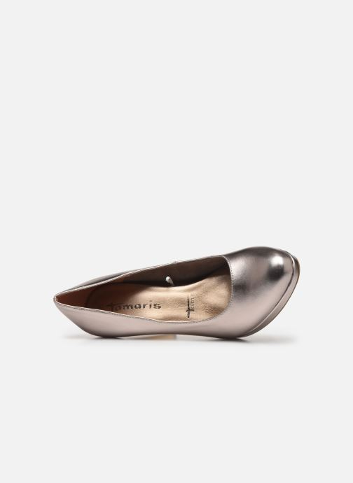 High heels Tamaris SOSKO Bronze and Gold view from the left