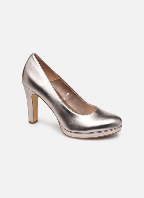 High heels Tamaris SOSKO Bronze and Gold detailed view/ Pair view
