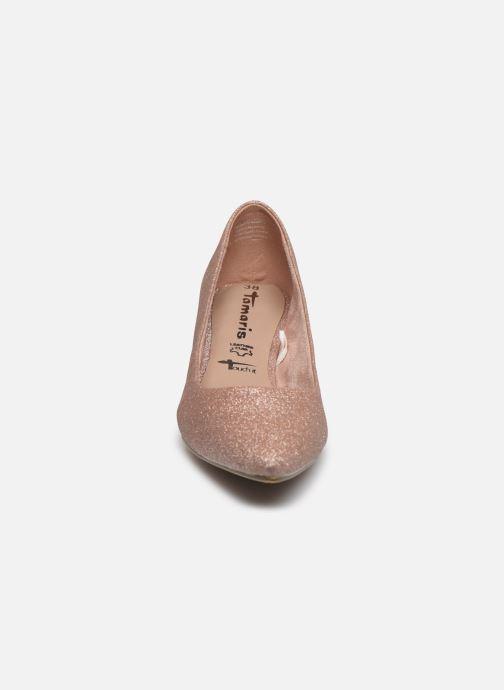 Escarpins Tamaris TRISHA Rose vue portées chaussures