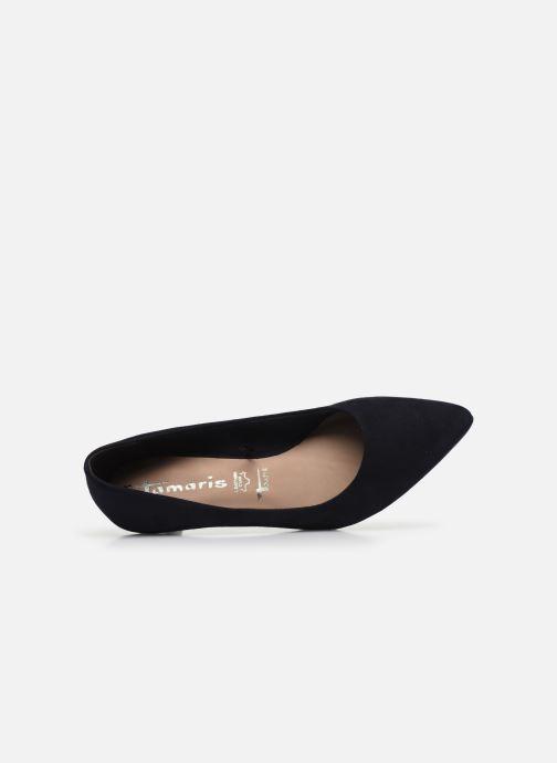 Zapatos de tacón Tamaris TRISHA Azul vista lateral izquierda