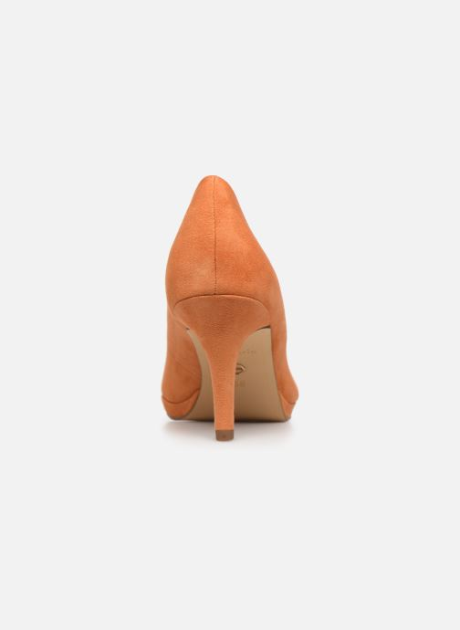 Zapatos de tacón Tamaris VASCO Naranja vista lateral derecha
