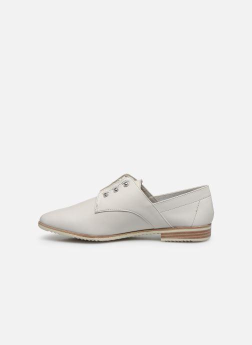 Zapatos con cordones Tamaris LAMIA Blanco vista de frente