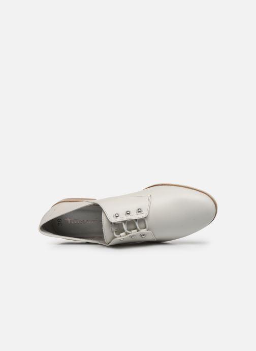 Chaussures à lacets Tamaris LAMIA Blanc vue gauche