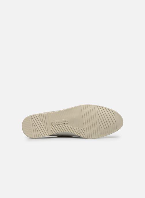 Zapatos con cordones Tamaris LAMIA Blanco vista de arriba